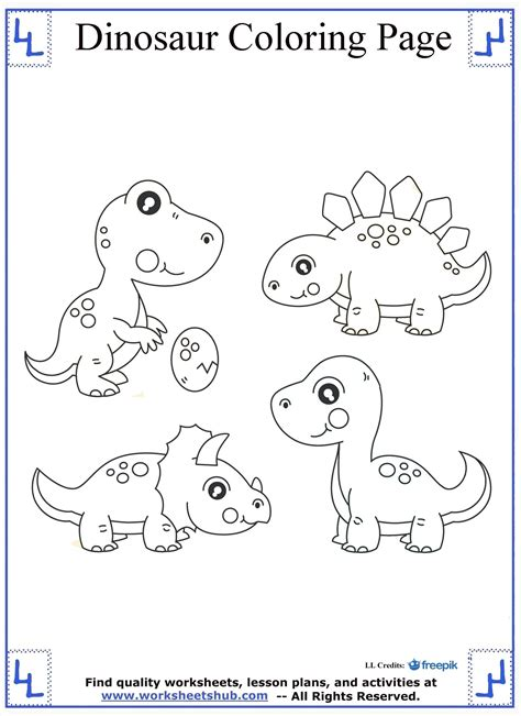 dinosaur math coloring pages dinosaur coloring pages