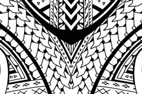 samoan shoulder sleeve tattoo tribal tattoo flash designs