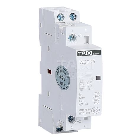 wct modular household ac contactor construction