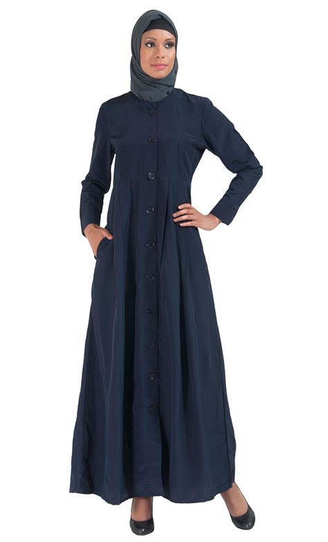 Jilbab Bergo Pocket Jumbo Uk high neck side pockets kashibo abaya jilbab