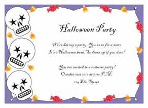 halloween invitations free templates printable halloween party invitations