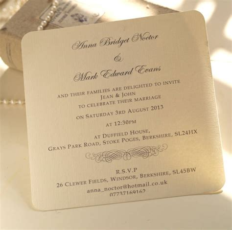 personal wedding card wordings from personal wedding invitation marina gallery