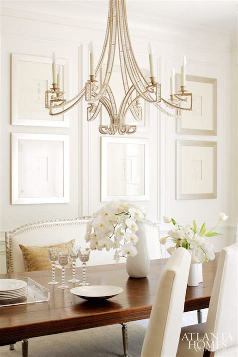 Dining Room Chandelier Lighting Chandelier Transitional Dining Room Atlanta Homes Lifestyles