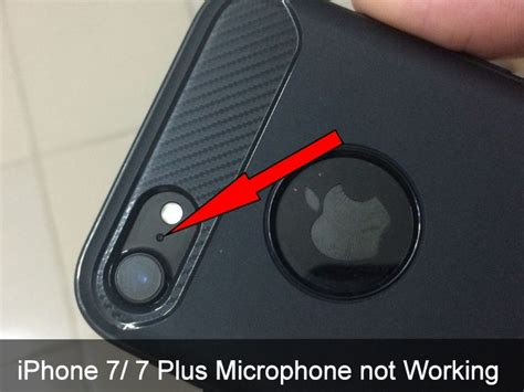 iphone x 8 8 plus iphone 7 plus microphone not working here s guide