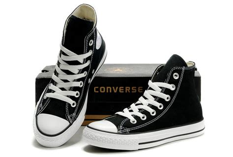 classic converse chuck all high top optical black canvas shoes 101010 52 00