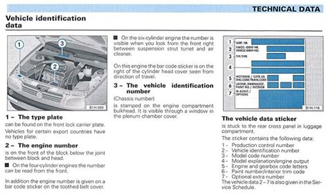 Vehicle Identifier Section by Vw Vin Codes Club Veedub