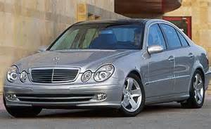 2003 mercedes e class car news car and driver