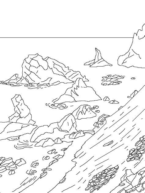 sea stacks gibbs island antarctica