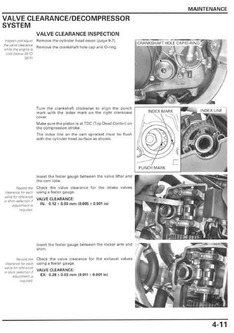 small engine repair manuals free download 2009 suzuki equator user handbook service manual 2004 2009 honda crf250r frank mxparts