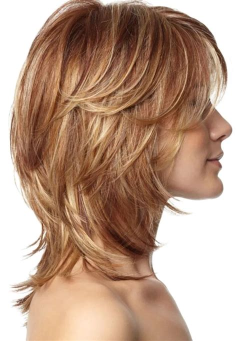 chunky layers for fine hair 25 most superlative medium length layered hairstyles