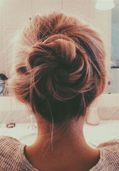 pictures of bun 103 messy bun hairstyles