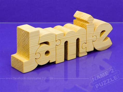 creative idea for gift unique name puzzle unique gift