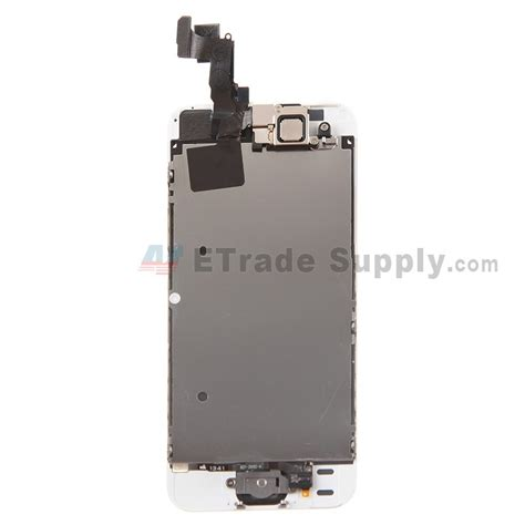 Lcd Iphone 5s Gold apple iphone 5s lcd assembly with frame and home button