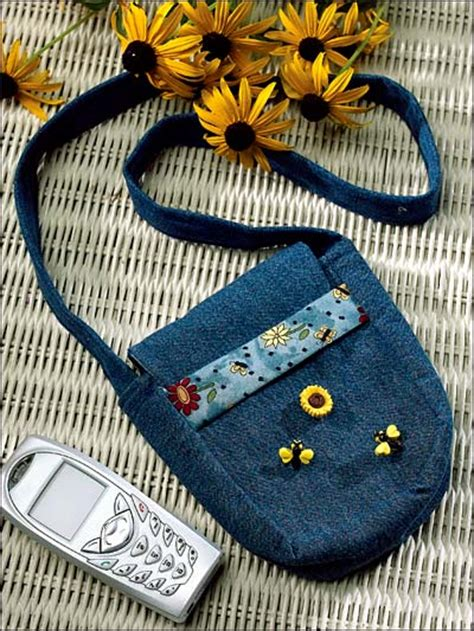 cell phone purse  quilting pattern quilted bag