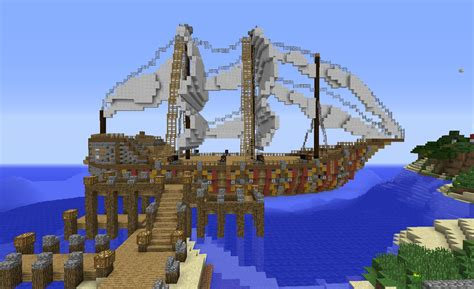 how to build a giant boat in minecraft minecraft huge pirate ship build creative mode