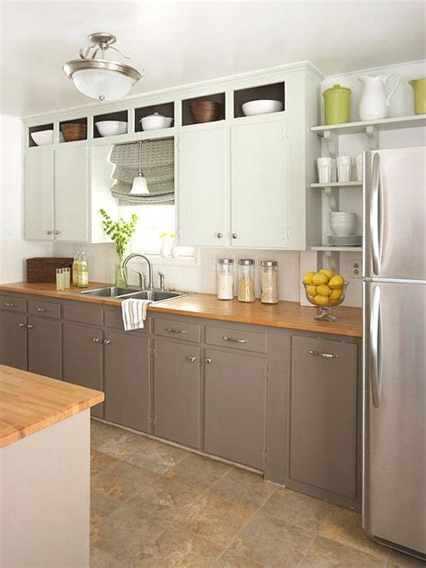open shelves under cabinets budget kitchen remodeling kitchens under 2 000 upper