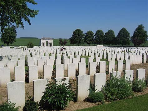 serre no 2 cemetery blue fox walks the somme my story