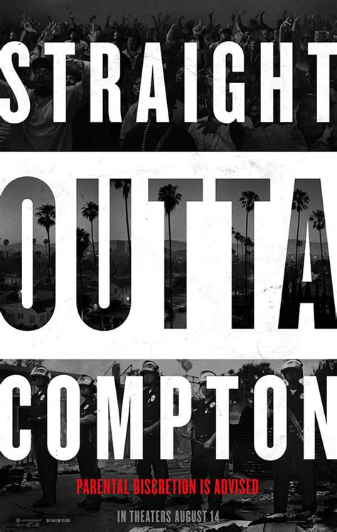 Straight Outta Compton 2015 Straight Outta Compton Releases Second Trailer And Character Posters