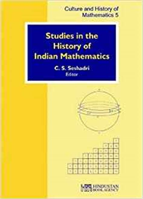 a account of the history of mathematics books studies in the history of indian mathematics