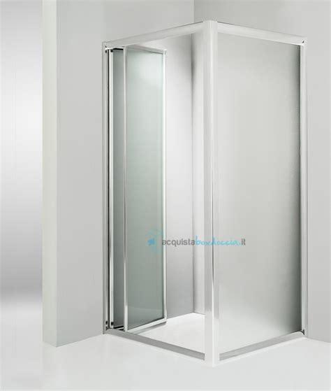 piatto doccia angolare 70x90 box doccia angolare anta fissa porta soffietto 70x90 cm opaco