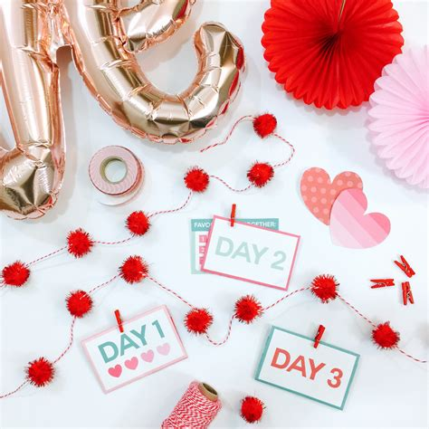 14 days valentines ideas quot notes quot dating divas s day printables 14
