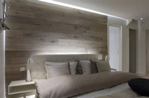 wooden headboard lighting ideas