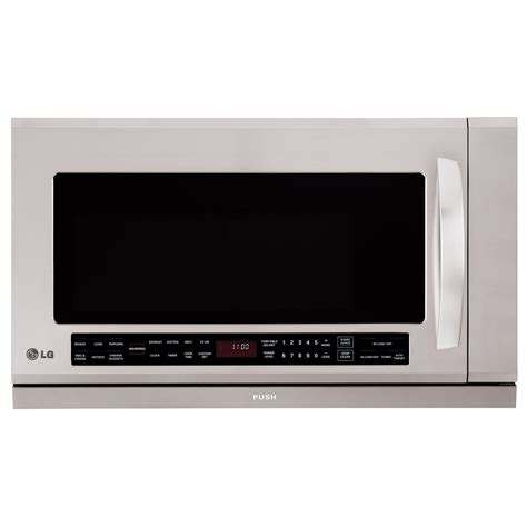 microwave warming lg lmhm2017st 30 quot microhood combination w warming