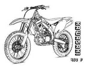 yamaha 450 dirt bike coloring pages coloring pages