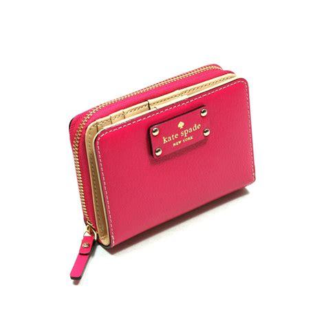 Kate Spade Cara Wellesley Small Wallet Deep Pink #WLRU1745   Kate Spade WLRU1745