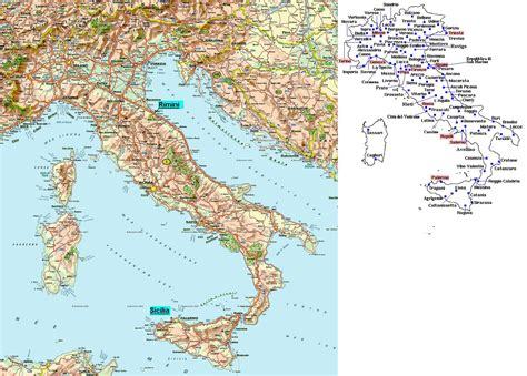 printable road map of italy in english small road map of italy italy small road map vidiani