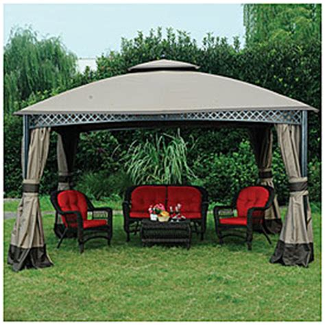 Wilson And Fisher Gazebo View Wilson Fisher 174 10 X 12 Dome Gazebo Deals