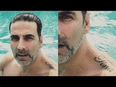 tattoo name akshay lesser known facts about the most disciplined actor akshay