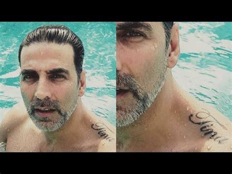 check out akshay kumar s new tattoo buzzsouk com