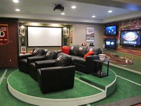Football Rugs Field Man Caves Nfl Network And Complete Hydraulic Service