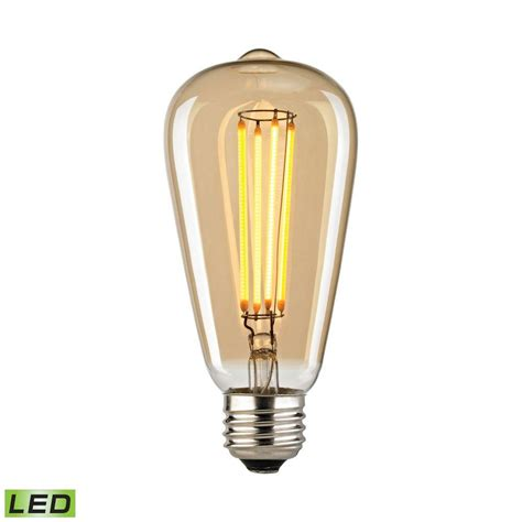 light bulb depot nashville tennessee titan lighting filament medium led bulb with light gold