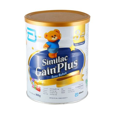 Similac Gain Plus 900gr Porismarkt jual monday day similac gain plus vanila