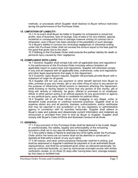 purchasing terms and conditions template archives eputorrent