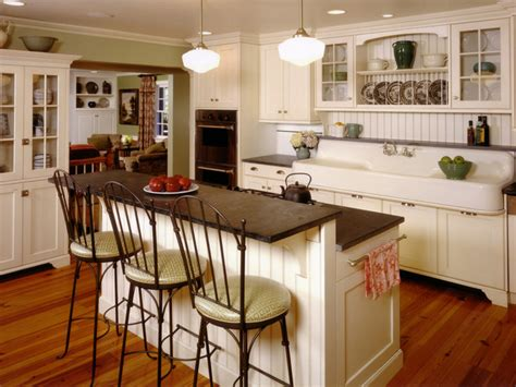 Cottage Style Kitchen Island Simple Touches To Bring Cottage Style Decor Into Your Home