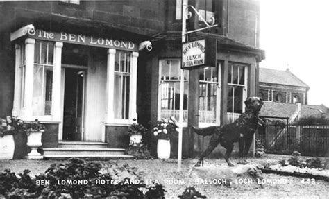 Luss Tea Room by Balloch On Loch Lomond History 5