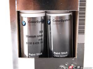 Bmw Touch Up Paint Genuine Bmw 51910419745 Titanium Silver Metallic Touch