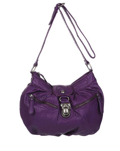 Ck Pushlock Wallet nica rosie pushlock front large cross bag purple