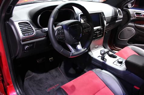 jeep srt 2015 interior 2015 jeep grand cherokee srt red vapor limited edition