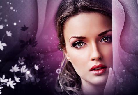 beautiful lady face beautiful beauty woman girl fantasy eyes wallpaper