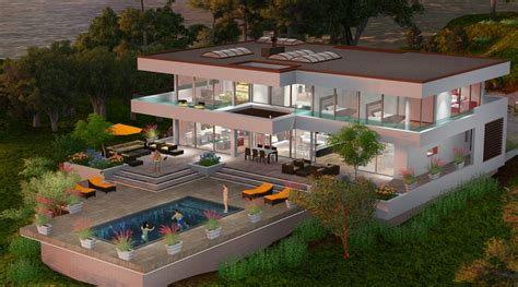 Dream Home Plans Luxury the beverly hills dream house project maintains the