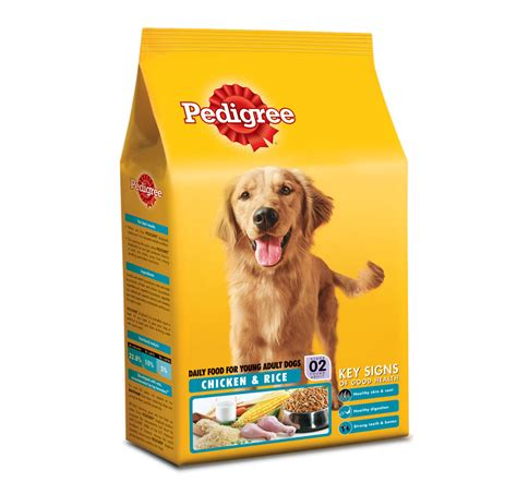 pedigree puppy chow pedigree food chicken and rice 1 2 kg