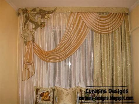 designer drapes curtains embossed curtain designs and draperies for bedroom luxury