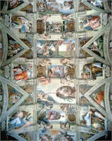 sixtinische decke michelangelo sixtinische kapelle decke und l 252 netten poster