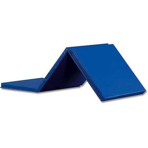 Gymnastics Mats Walmart by Expando Folding Exercise Mat Blue Walmart