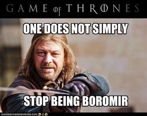 Boromir Meme - boromir quotes quotesgram