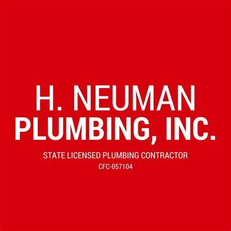 S H Plumbing by H Neuman Plumbing Plumbing 2603 W Vina Mar Blvd